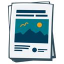 Icon Zeitungen drucken lassen